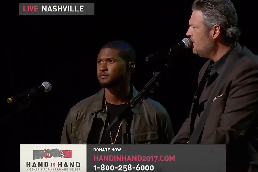 Watch Blake Shelton and Usher Sing Stand By Me