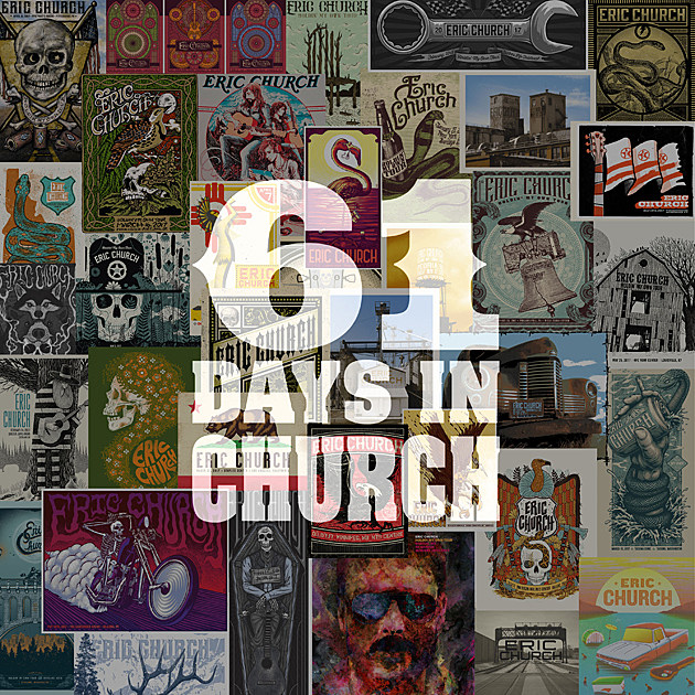 eric church 61 days in church