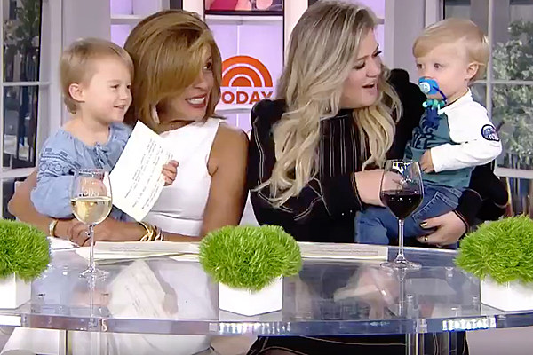 Kelly Clarkson's Kids Steal the Spotlight on 'Today'