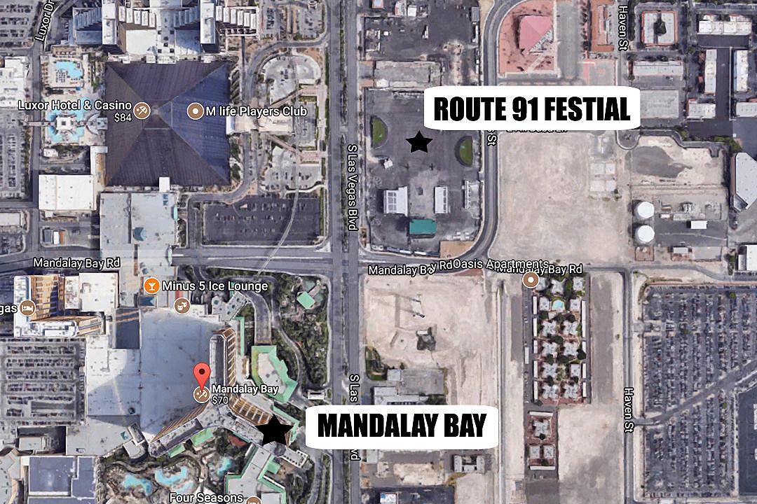 Route-91-Fest-Map