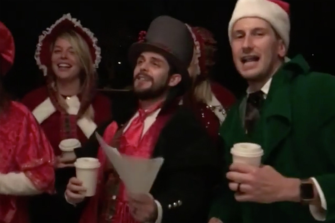 Thomas Rhett, Tyler Hubbard, Russell Dickerson and Wives Go Caroling