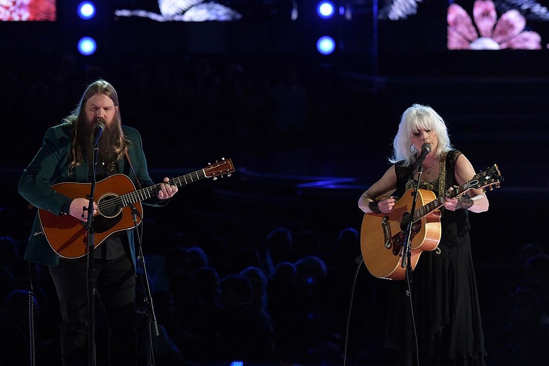 Chris Stapleton, Emmylou Harris Tribute Tom Petty at 2018 Grammys