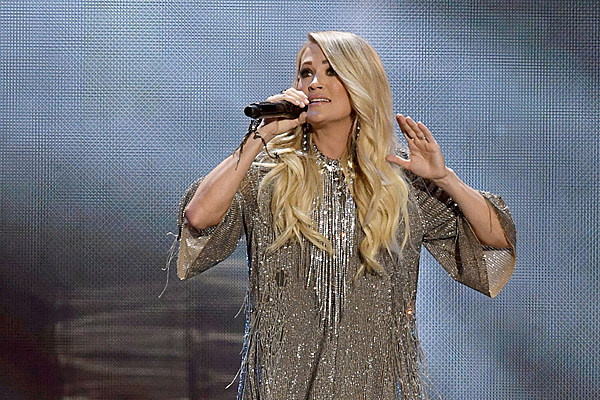 Carrie Underwood Rocks iHeart Music Fest Stage and Red Carpet