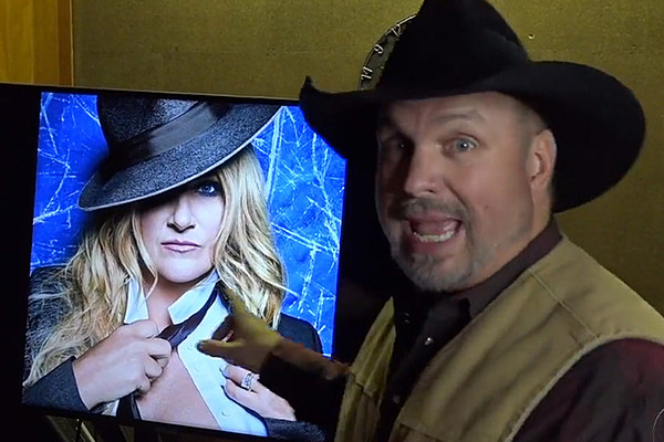 Trisha Yearwood Teases News And Garth Brooks Is Dying To