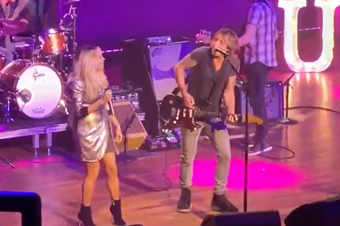 Keith Urban, Carrie Underwood Reunite to Perform 'The Fighter' at 2020 Country Radio Seminar [Watch]