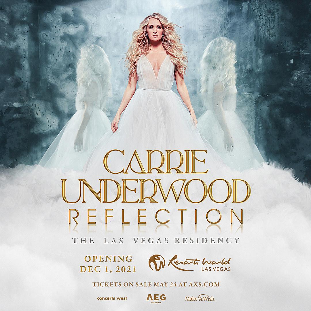 carrie underwood residency